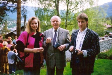 Linda, séra Sigurður Guðmundsson og Kolli