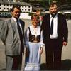 Siggi (frá Þrastastöðum), Haddý (Friðriksd. Margeirssonar)og Sven Arne